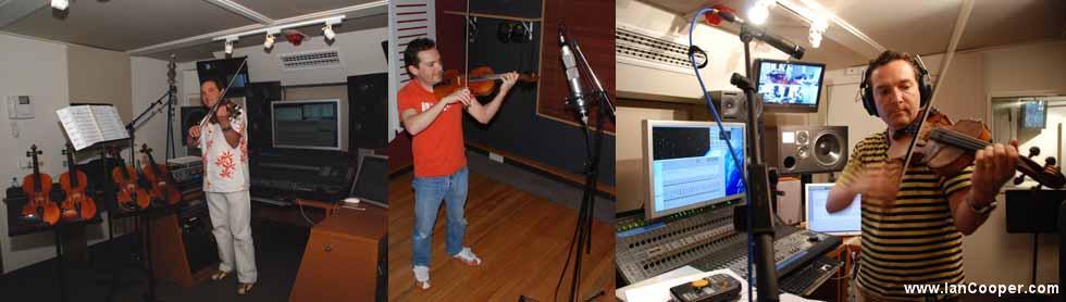 Ian Cooper - Session Violinist